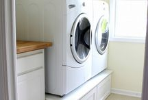 Creating Spaces: Laundry/Mud Room / by Randi Gallop