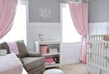 Baby girl room inspo