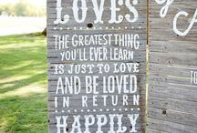 Signs Sayings and Backdrops