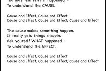 Cause and Effect / Ideas for teaching cause and effect to 3rd - 5th graders.
