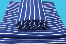 Blue-white vintage style