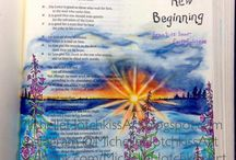 Lamentations Bible Journaling
