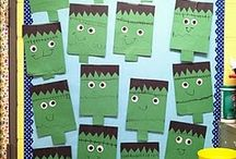 Preschool Halloween Crafts / by Christy Price