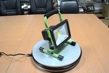 Rechargeable portable LED flood light for camping and travelling