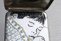 Pequenos textiles con texto/Small Textiles with text