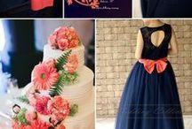 Casamentos azul-marinho
