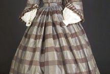 Morning dress 1850-60