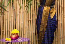 Festive Pure Gadhwal silks