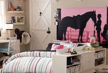 Horse room