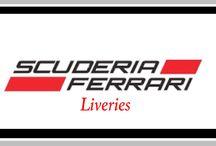 F1 | Ferrari Liveries