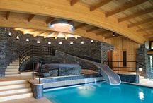 Exquisite Indoor Pools / by Doris Diaz