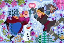 Disney frozen Anna and Kristof