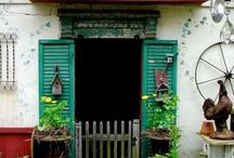 My Kind of Gardens and Decor / by Junkin Addict