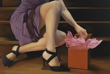 Romantic Art for Valentine's Day and Beyond / Here's a look at some fun, flirty and seductive original artwork.