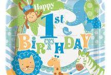 1st Boy Birthday