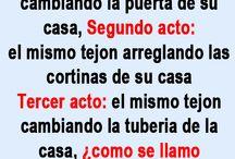 Humor in spanish and english / Los chistes más divertidos en inglés y en español / by Crismar Flores
