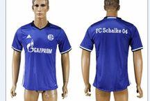 Billige FC Schalke 04 trøje / Køb Billige FC Schalke 04 trøje,FC Schalke 04 fodboldtrøjer,FC Schalke 04 hjemmebanetrøje/udebanetrøje/3. trøje  udsalg med navn.