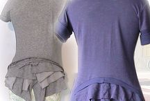 T-shirt / restyle, remake, customise t-shirts
