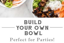 Party Foods + Cocktails