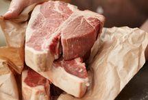 Raw meat custom