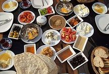 Turkish Cuisine / Turkish cuisine is largely the heritage of Ottoman cuisine, which can be described as a fusion and refinement of Central Asian, Caucasian, Middle Eastern, Mediterranean and Balkan cuisines.