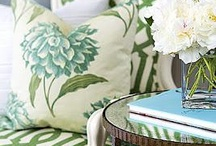 Green Decorating / All things green, home design ideas and inspiration.