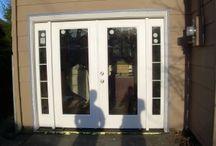 Basement doors