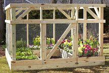fenced gardens
