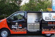 Jim's Mobile Cafe Coffee Van Catering