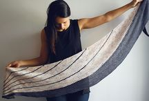 Shawls knitted