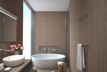 Bathroom design - renderings