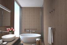 Bathroom design - renderings