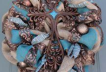 religious wreaths