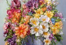 Rękodzieło kwiaty