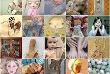 Flickr Mosaics and Picmonkey collages and Etsy Treasuries / Just playing around. Also etsy treasuries that include my artwork.
