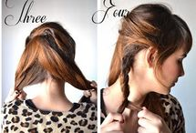 HAIR / Cool hair  styles everyone should try