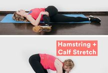 Stretching Sore Lower Body