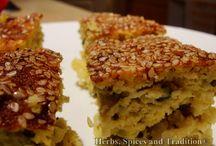 Savoury Lentil Baked Cake