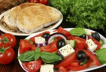 The Mediterranean Diet / More than a meal plan, the Mediterranean Diet is a healthy orientation to life that revolves around fruits and vegetables, healthy oils, fish, nuts, seeds, legumes, red wine and exercise. Fiber, vitamins and minerals all play important roles, too.