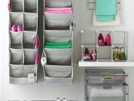 Tie rack as towel organizer