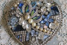 trinkets,treasures, baubles and bling