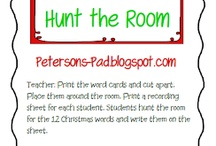 Teaching- Christmas / Great Christmas ideas for the classroom / by Sheree Peterson