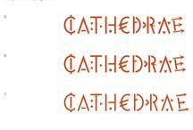 Logo d'artista / #CATHEDRAE è il risultato di un incontro fra due grandi personalità apparentemente contrapposte ma in realtà facce dello stesso concetto di creatività: lo spirito artistico di un maestro come Jacques Villeglé, autore del logo CATHEDRAE, e quello pragmatico dell'imprenditore, capace di trasformare i sogni in elementi reali.