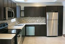 Spaces: Stainless Steel / The gleaming look of stainless steel adds to any style of home décor!