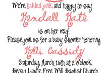 Baby Showers!  / by Lacy Hale