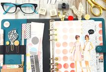 I think I just became a Planner Girl / Scrappy Planner fun stuff / by Amy Mallory