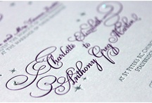 Letterpress Wedding Invitations | Leonie Gordon London / Leonie Gordon London Letterpress Wedding Invitations