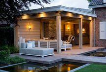 aanbouw/terras huis
