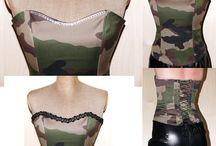 Moje prace / Tablica pokazuje moje pomysły do damskiej garderoby :) Szyję je sama na zamówienie :) Zapraszam.