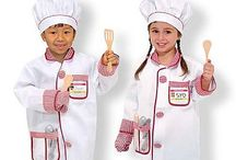 Role Play Costumes by Melissa and Doug / Washable costumes by Melissa and Doug.  Great for Dress Up Play